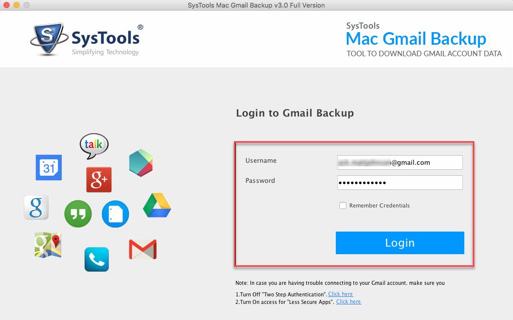 mport gmail data to mac mail