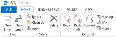 Select file option