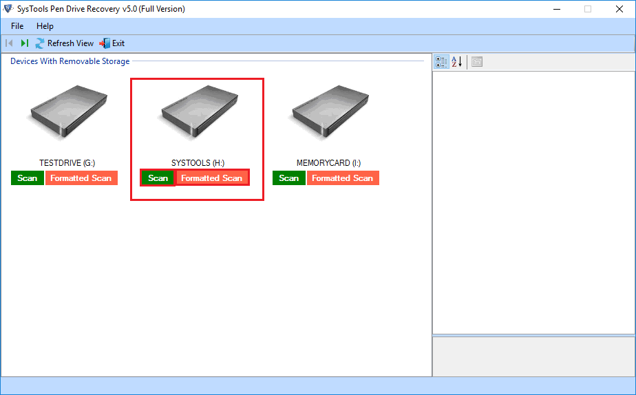 How do you show hidden files on a flash drive?