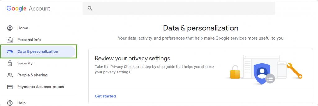 Data Personalization