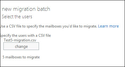 choose IMAP migration