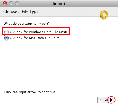 outlook to mac mail