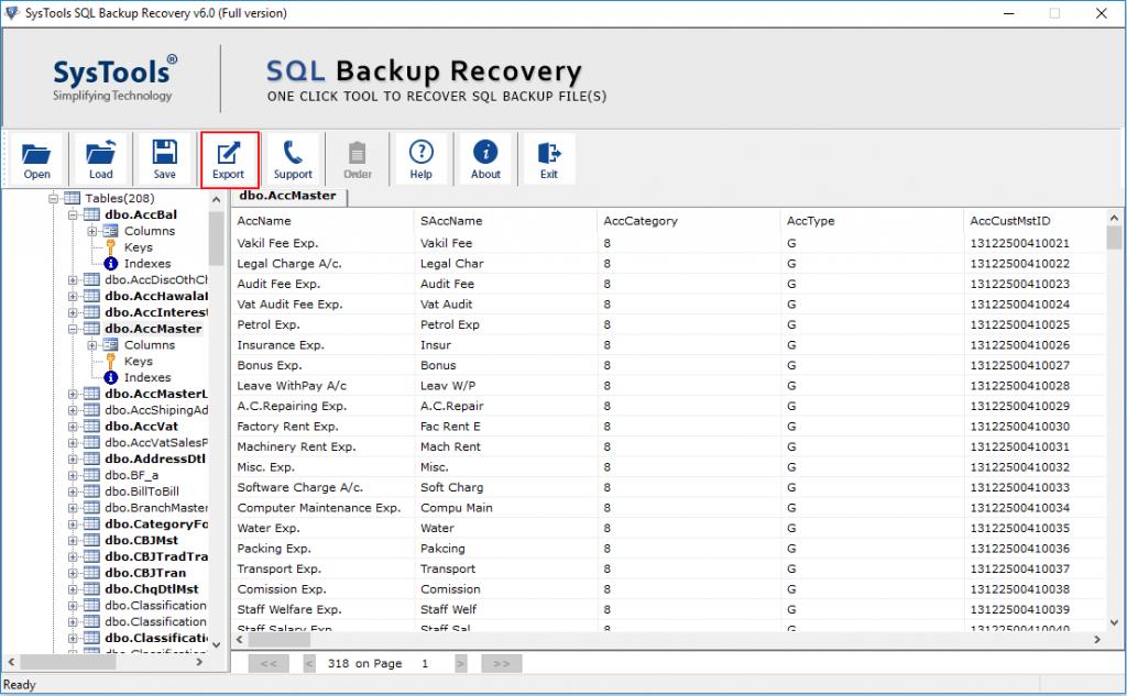 restore multiple bak file 5