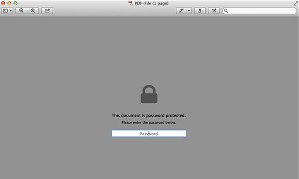 изменить защищенный паролем pdf на незащищенный