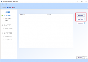 open pst file in lotus notes
