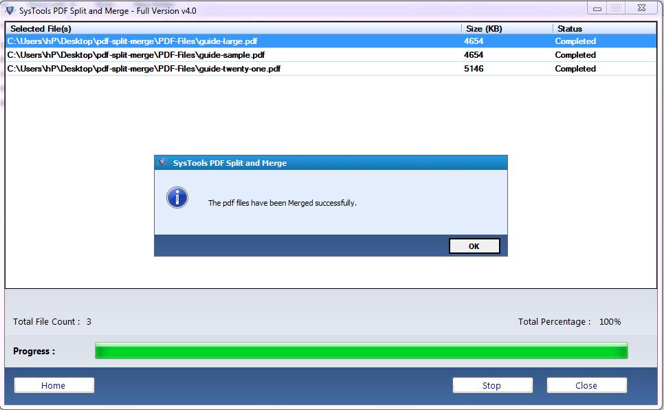 merge large PDF files into one file