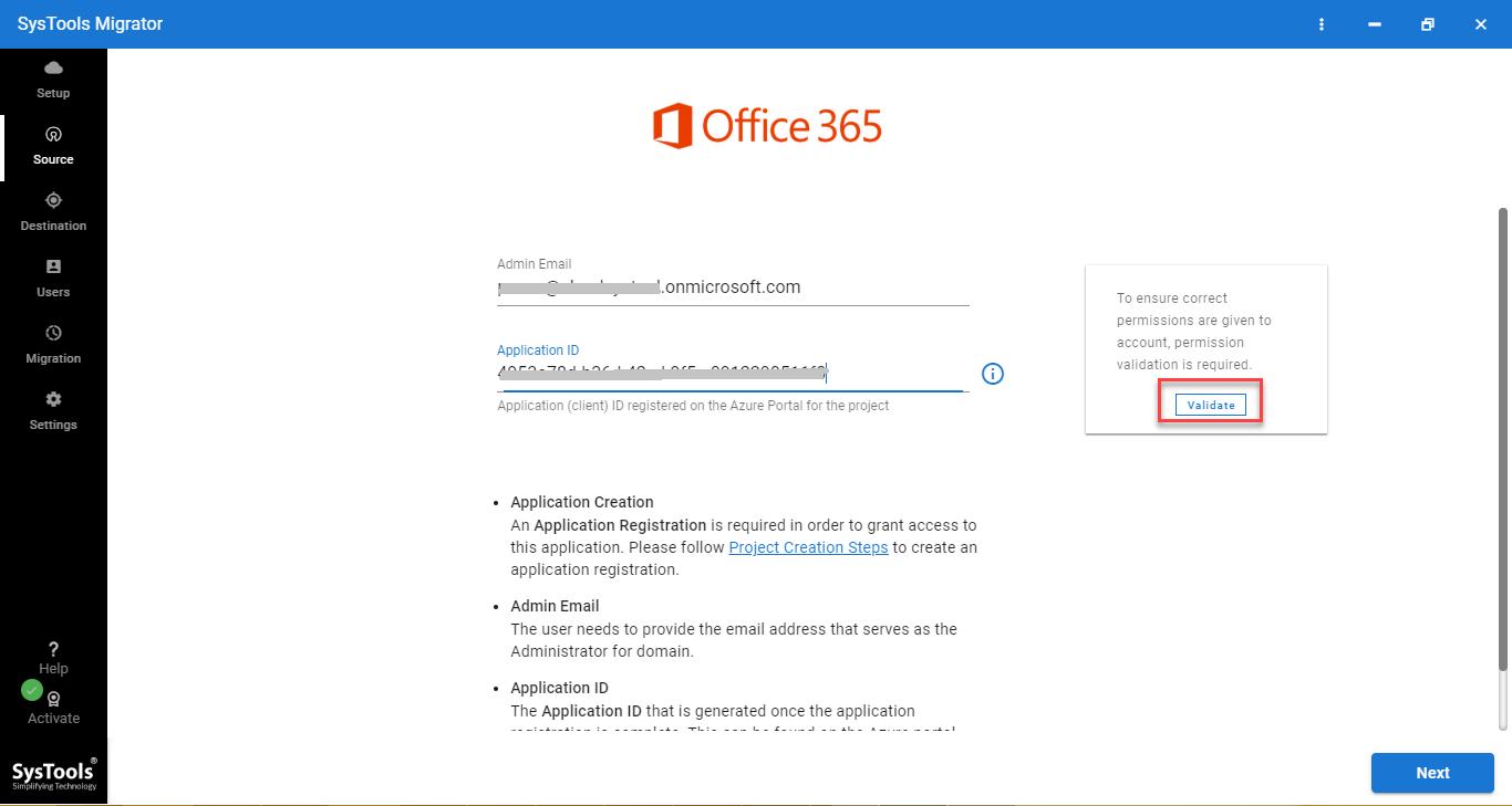 office 365 credentials