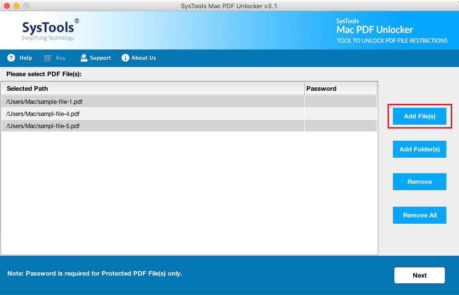 add multiple pdf files on mac