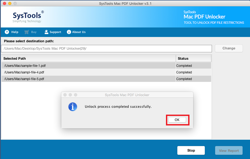 PDF Password Remover MAC Free Download