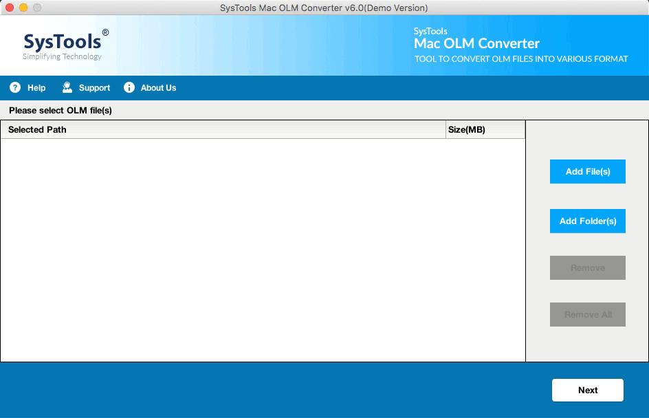 Mac OLM Converter
