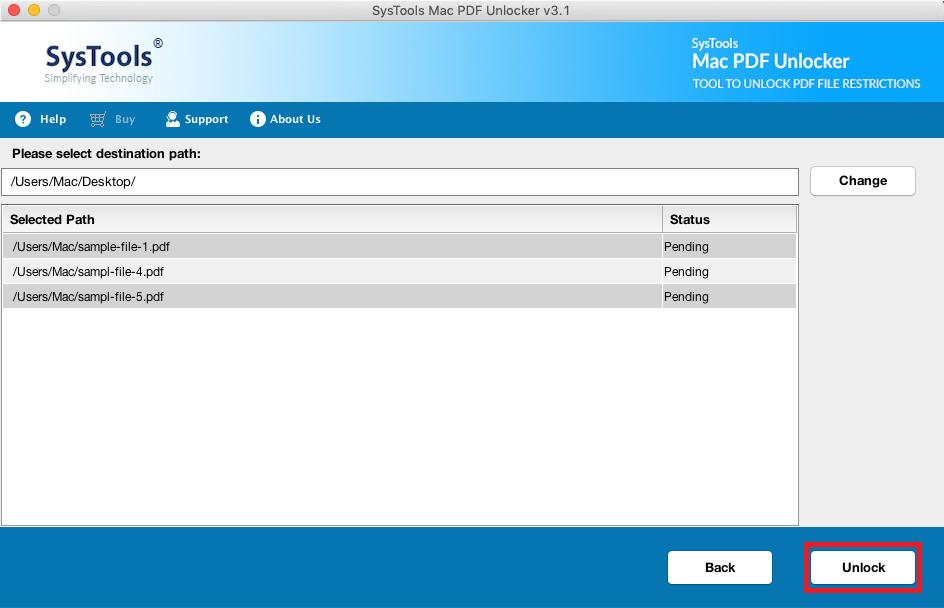 unlock password protected PDF files on mac os x