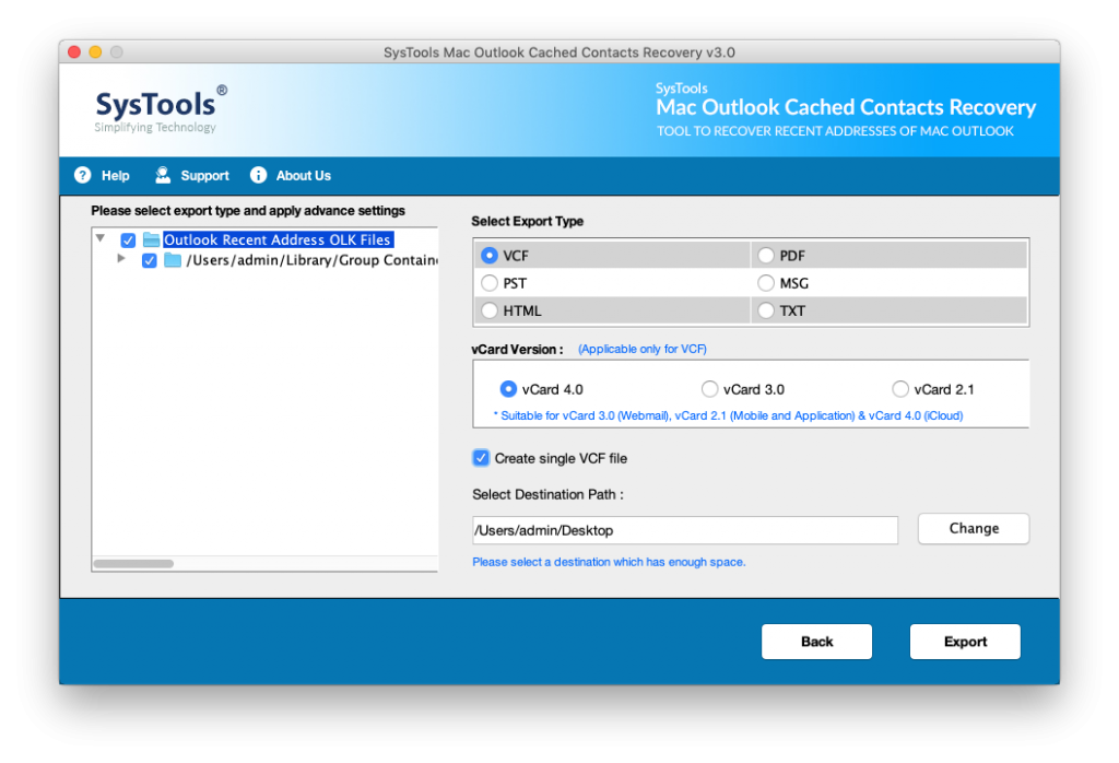 How to export autocomplete email addresses Outlook 2016