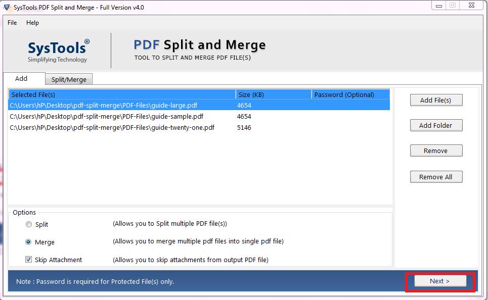 merge multiple pdf files in existing pdf