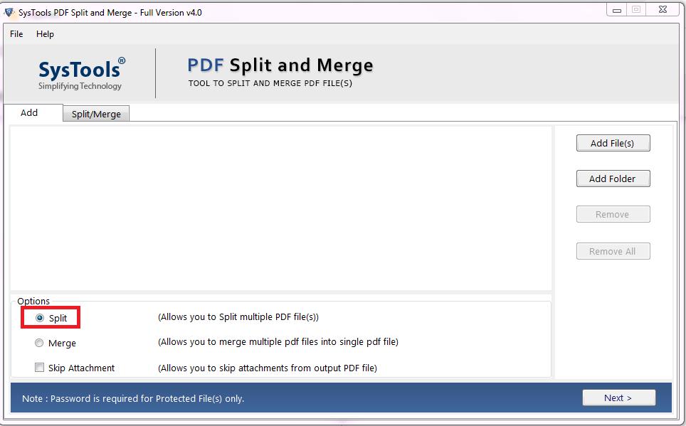 Break a Large PDF File