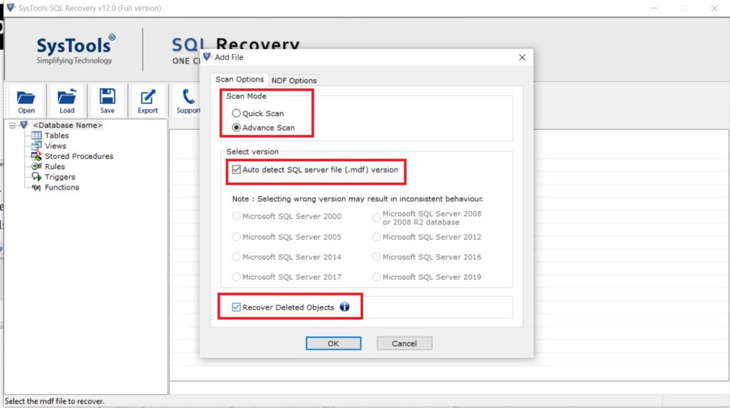 SQL Server Stuck in Restoring State