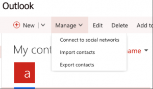 Export Office 365 Contacts to vCard (VCF) File Format – Step