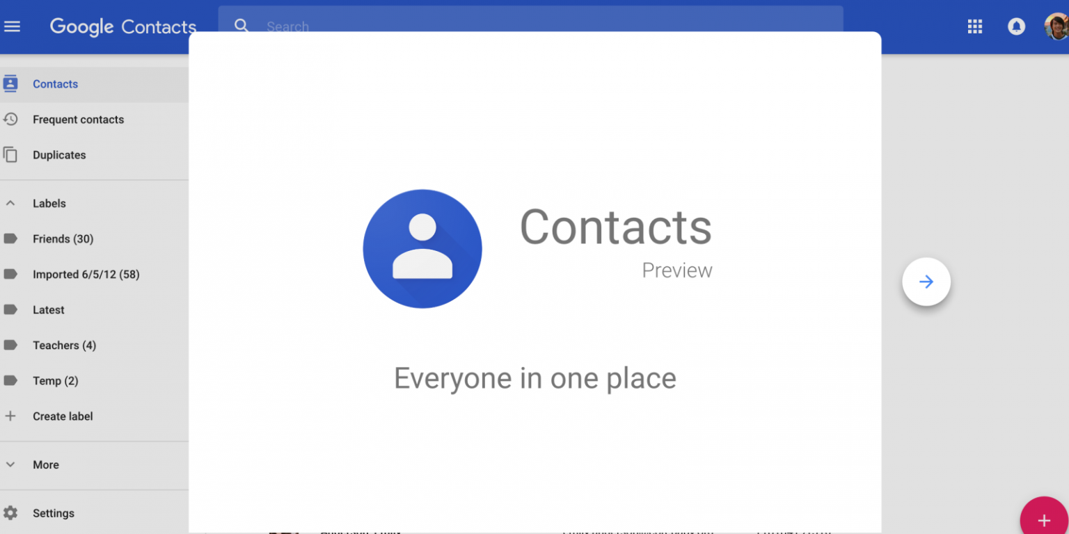 export google contacts to vcf
