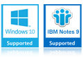 Windows 10, 8 IBM Notes 10.0
