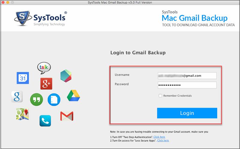 login to mail gmail backup