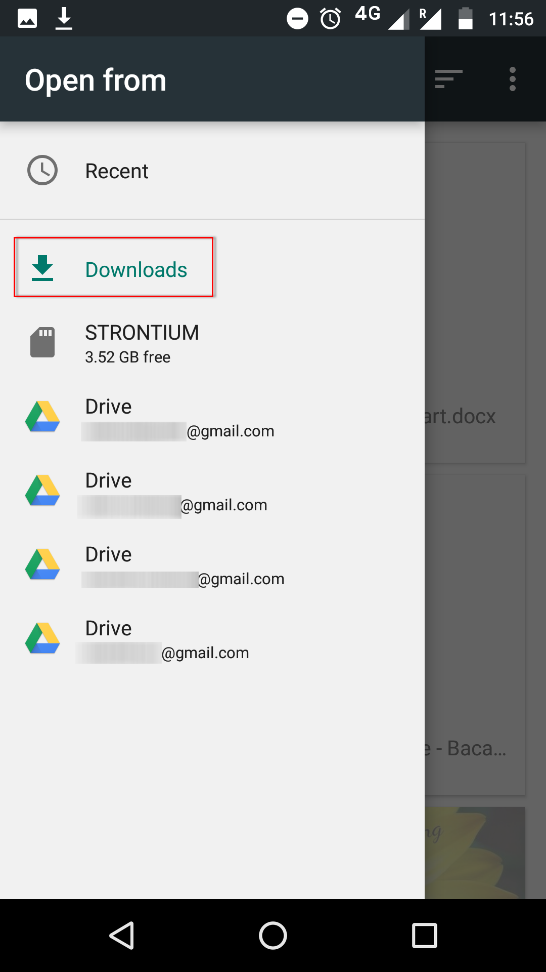 export excel to android contacts