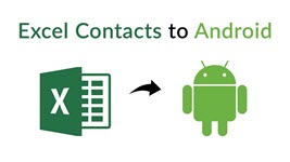 Import Contacts from Excel to Android