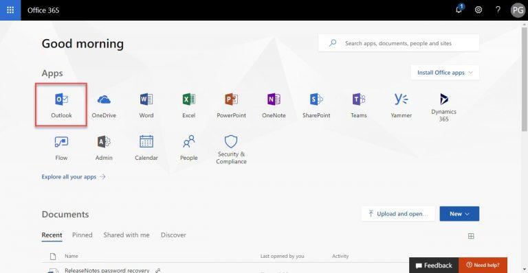 login-office-365