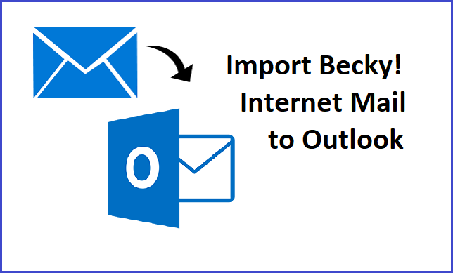 import becky into outlook