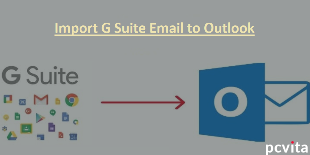 import g suite email to outlook