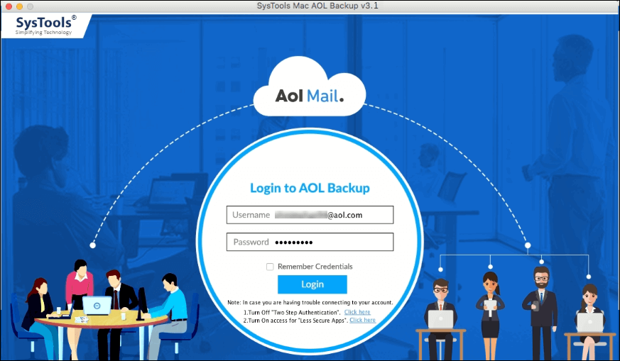 aol backup mac