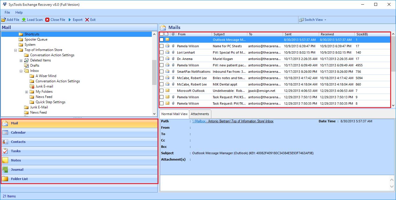 repair edb file