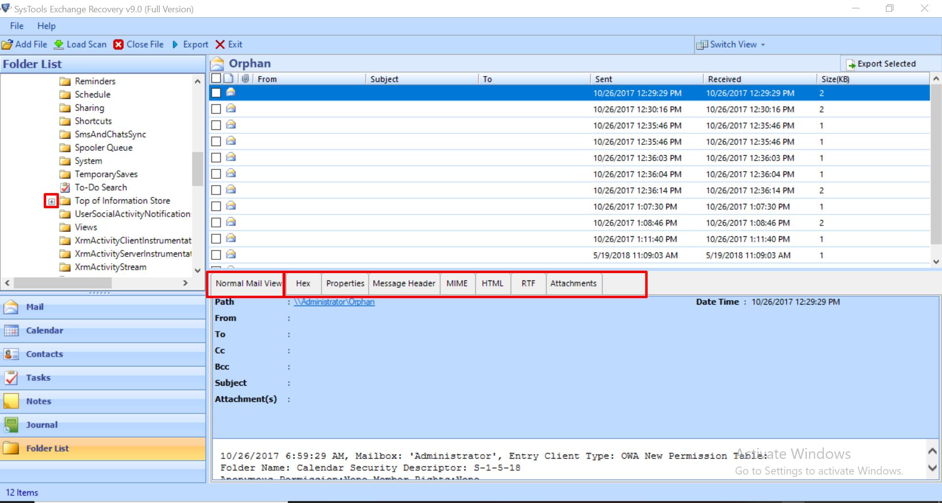 edb Email repair utility