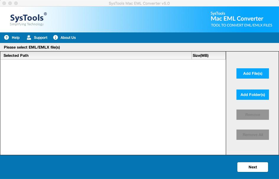 add eml file mac