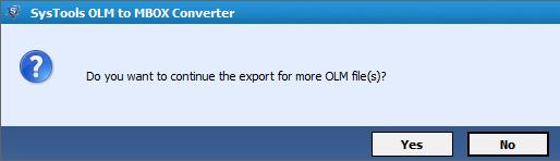 Convert OLM files