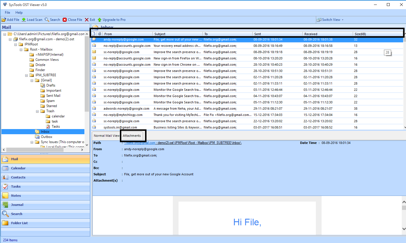 View OST File without Outlook