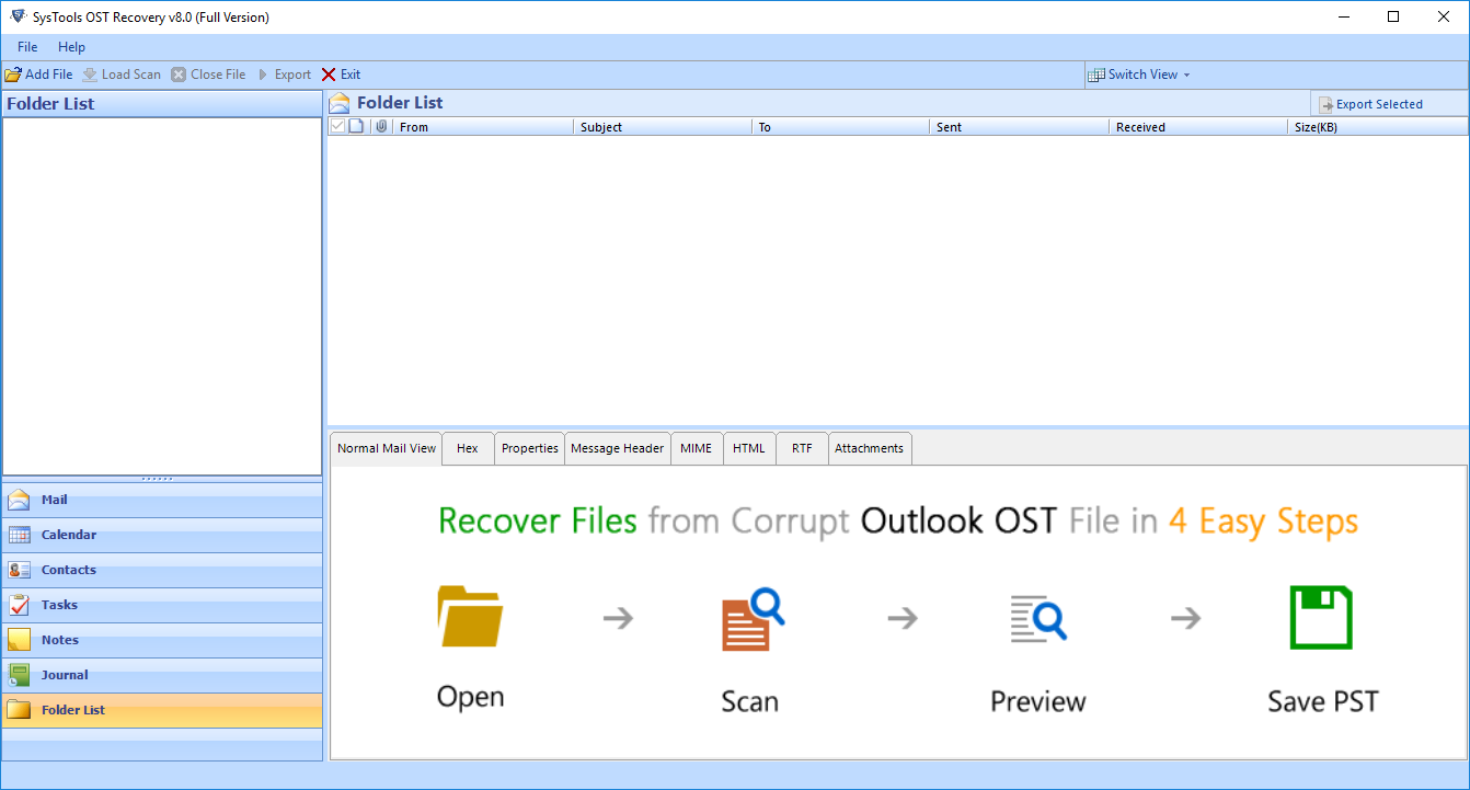 run ost recovery tool
