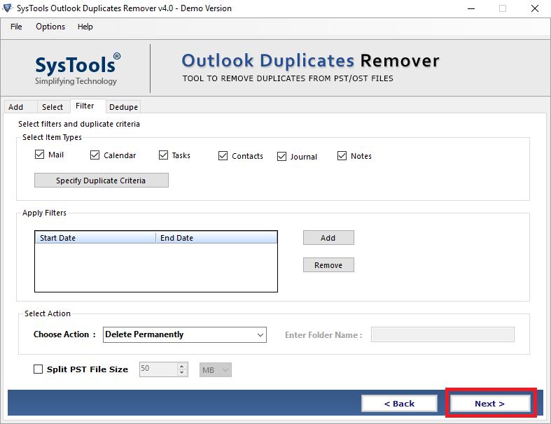 Remove Duplicate items
