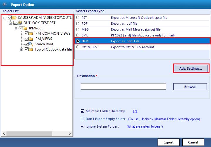 select html option