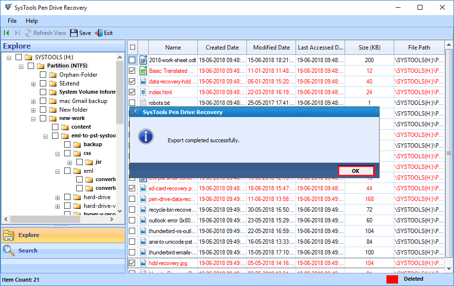 recover deleted files from flash drive after format